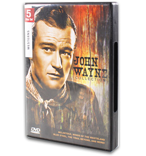 John Wayne Collection DVD - 5 Disc Set - #7973