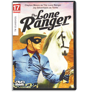 The Lone Ranger - TV Classics on DVD - #7974