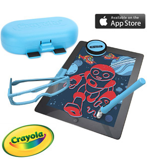 Crayola Digitools 3D Pack Art Set for iPads - #8001