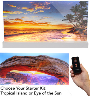 Vibzz Fine Art Starter Kit - Illuminated Landscape Panels - #8041