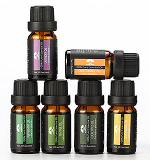 Aromatherapy Essential Oil 6pc Gift Set - 100% Pure - #8064