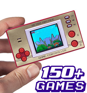 Retro Pocket Arcade with Over 150 Games - #8068