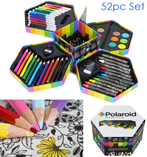 Polaroid 52pc Art Set - #8073