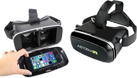 Astoria VR Goggles for iPhone and Android Phones