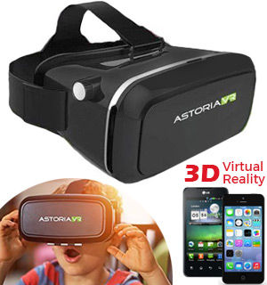 Virtual Reality Goggles for iPhone and Android Phones