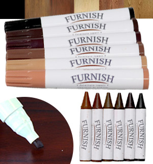 Furniture Repair Markers & Filler Crayons - 12pk - #8084