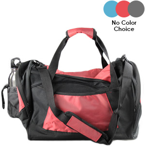 18in Duffle and Gym Bag w/Water Bottle Pocket - #8101