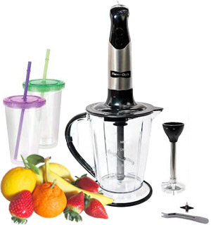 FlavorQuik 2 in 1 Blender and Combo Kit - #8111