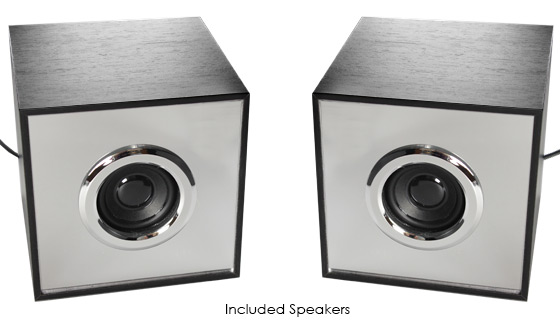 3pc Infinity Light Bluetooth Speaker System with Subwoofer