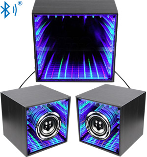 3pc Infinity Light Bluetooth Speaker System with Subwoofer - #8115
