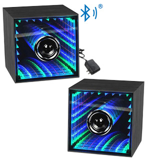 2pc Infinity Light Bluetooth Speakers - #8116