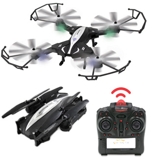 X4-Retractor Folding Drone with Built-In Camera - #8131