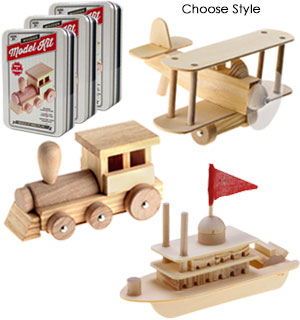 Build and Play Wooden Model Kits - #8145