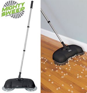 Mighty Sweep - The Automatic Spinning Broom - #8153