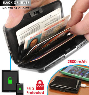 Atomic Beam Charging Wallet - Deluxe - #8179