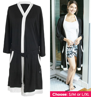 Hello Mello Lounge Robe <br/>With Travel Pouch - #8231