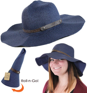Roll-n-Go Sun Hat by Sunlily - #8235