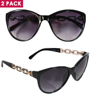 In the Loop Sunglasses 2pk by Sunlily - #8237
