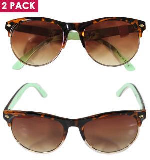 Wisdom Sunglasses 2pk by Sunlily - #8238