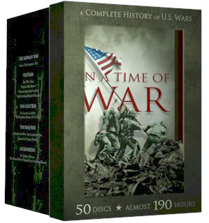 In A Time of War 50 DVD Collection - #8239