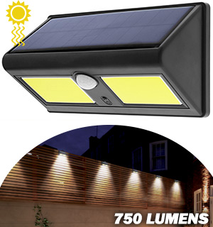 Night Beam Solar and Motion Activated Outdoor Security Light - #8246