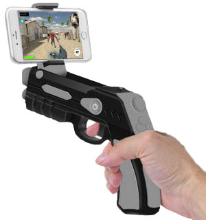 Augmented Reality AR Phaser with Smartphone Video Games - #8261