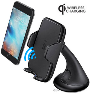Universal Qi Wireless Charger Car Mount - #8265