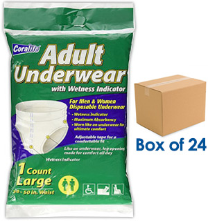 Coralite Adult Underwear for Incontinence - #8271A
