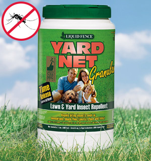 Liquid Fence Yard Net 2lb Granular Insect Repellent - #8275