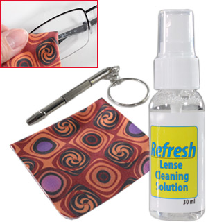 Refresh iPhone, Smart Phone and Eyeglass Cleaning and Repair Kit - #8277