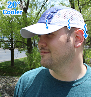 Cooling Chilly Bean Hat by Frogg Toggs - #8281