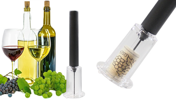 Wine Bottle Opener Injector Pump