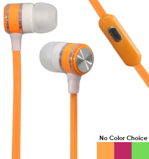 SoundLogic Stereo Earbuds with Built-In Mic - #8305