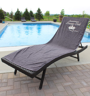 6.5ft Lounge/Chaise Chair Towel - #8307