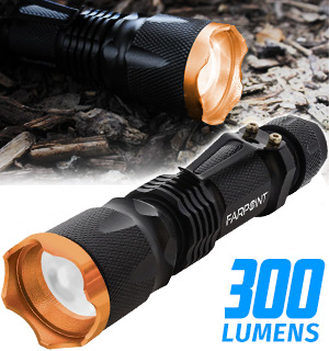 Micro SWAT Tactical Flashlight - #8317