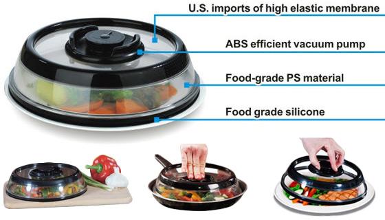 PressDome Airtight Food Storage Container