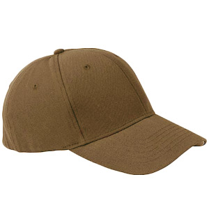 Plain Baseball Hat: Hazelnut Brown - #8326