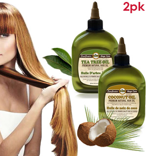 Premium Coconut and Tea Tree Oil Kit for Hair - #8345