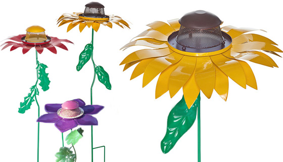 Giant Flower Bird Feeders - Choose from  remaining 2 Styles
