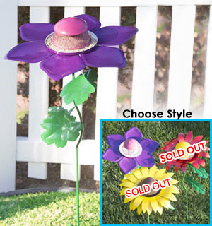 Giant Flower Bird Feeders - Choose from  remaining 2 Styles - #8351