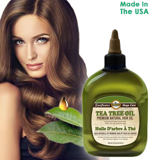 Premium Natural Hair Oil: Tea Tree Blend - #8359