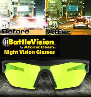 BattleVision Night Vision Glasses by Atomic Beam - #8364