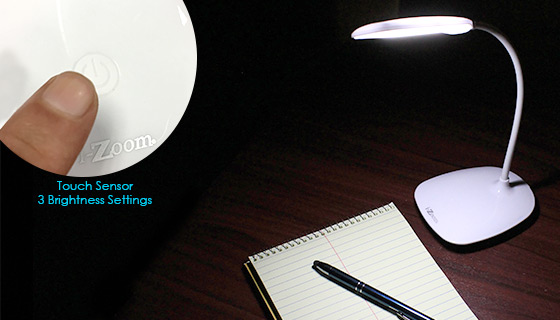Swan Light - Rechargeable Flex Desk Lamp