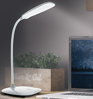Swan Light - Rechargeable Flex Desk Lamp - #8400