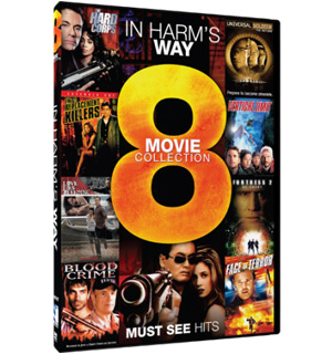 In Harm's Way - 8 Movie Collection DVD - #8420