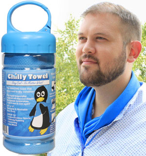 Chilly Ice Towel - A Cold Towel That Lasts for Hours