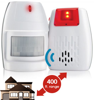 Wireless Watchdog Home and Personal Security Alert System - #8468
