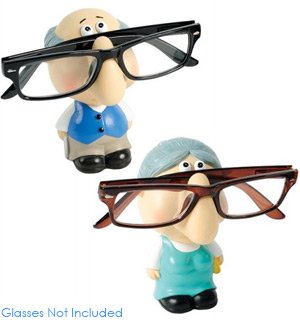 Gramps and Granny Eyeglass Holder - #8476
