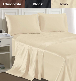 Luxury Home Satin Sheets - #8479