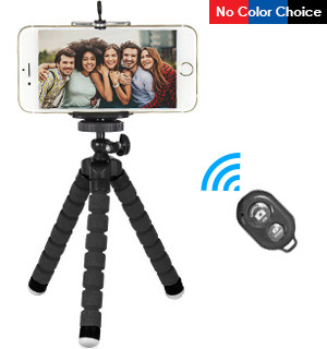 3-in-1 Selfie Tripod Kit with Bluetooth Shutter Button - #8482